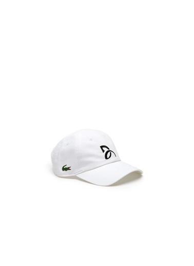 Lacoste Şapka Beyaz